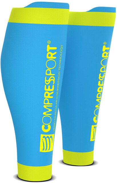 Compressport R2 V2 V2 V2 Calf Sleeves Ice Blå 40b1fc